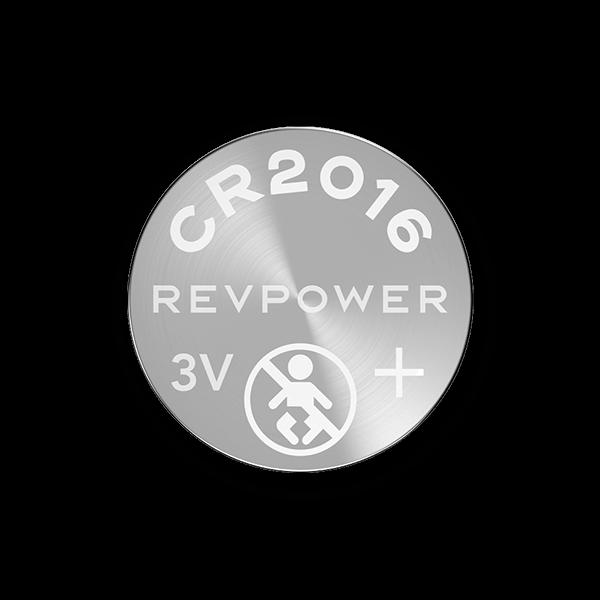 REVPOWER CR2016 LITHIUM COIN BATTERY
